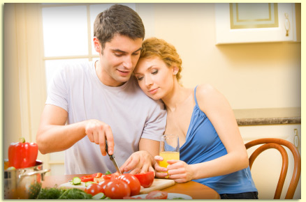 Healthy valentine s day ideas center for athletic for Valentine s day meals to cook together