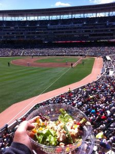 Healthier ways eat ballpark